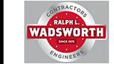 Ralph L. Wadsworth Construction Logo